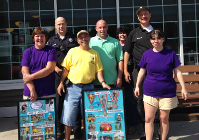 "On September  12, 2015, members of the Candia Police participated in the Special Olympics ""To  Serve and Protect Day"" at the Candia First Stoppe/Irving."