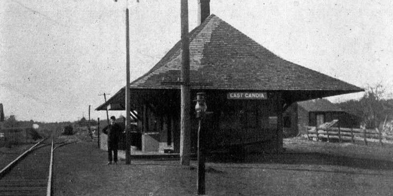 Boston & Maine Station, East Candia